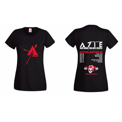 A7IE Russian Tour 2013 T-Shirt Girlie