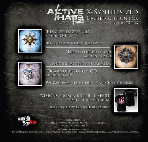 Aktive.Hate - X-Synthesized Box-Set
