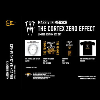 Massiv In Mensch - The Cortex Zero Effect Box-set edition