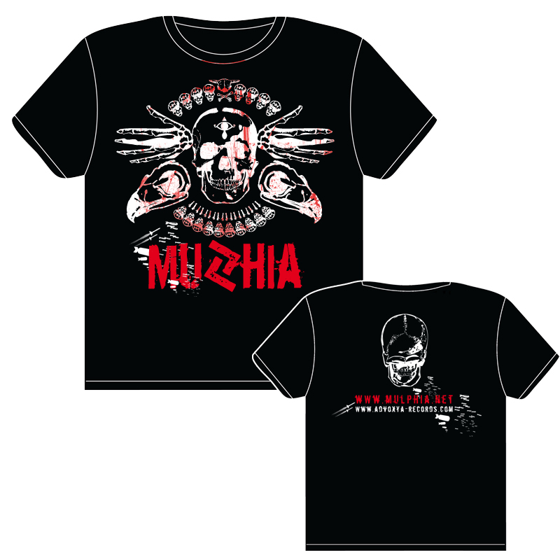 Mulphia T-shirt - Wartorn Bombing