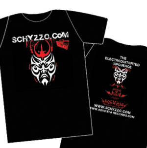 Schyzzo.Com - Electrodistorted Influences T-Shirt